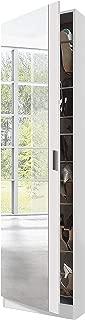 Habitdesign 007866BO - Armario zapatero con espejo, color