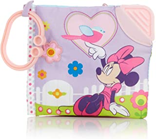 Disney Baby Minnie Mouse On The Go Soft Book for Babies