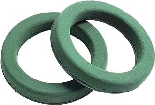 """Foam Rings 8-1/2"""" Two (2) Per Order Maxlife Foam Rings - Green Mache-backed"""