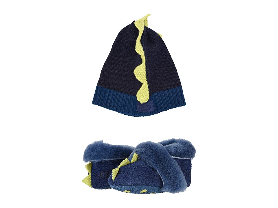 UGG Kids Dydo Solvi Boxed Set (Infant) (Navy) Boys Shoes