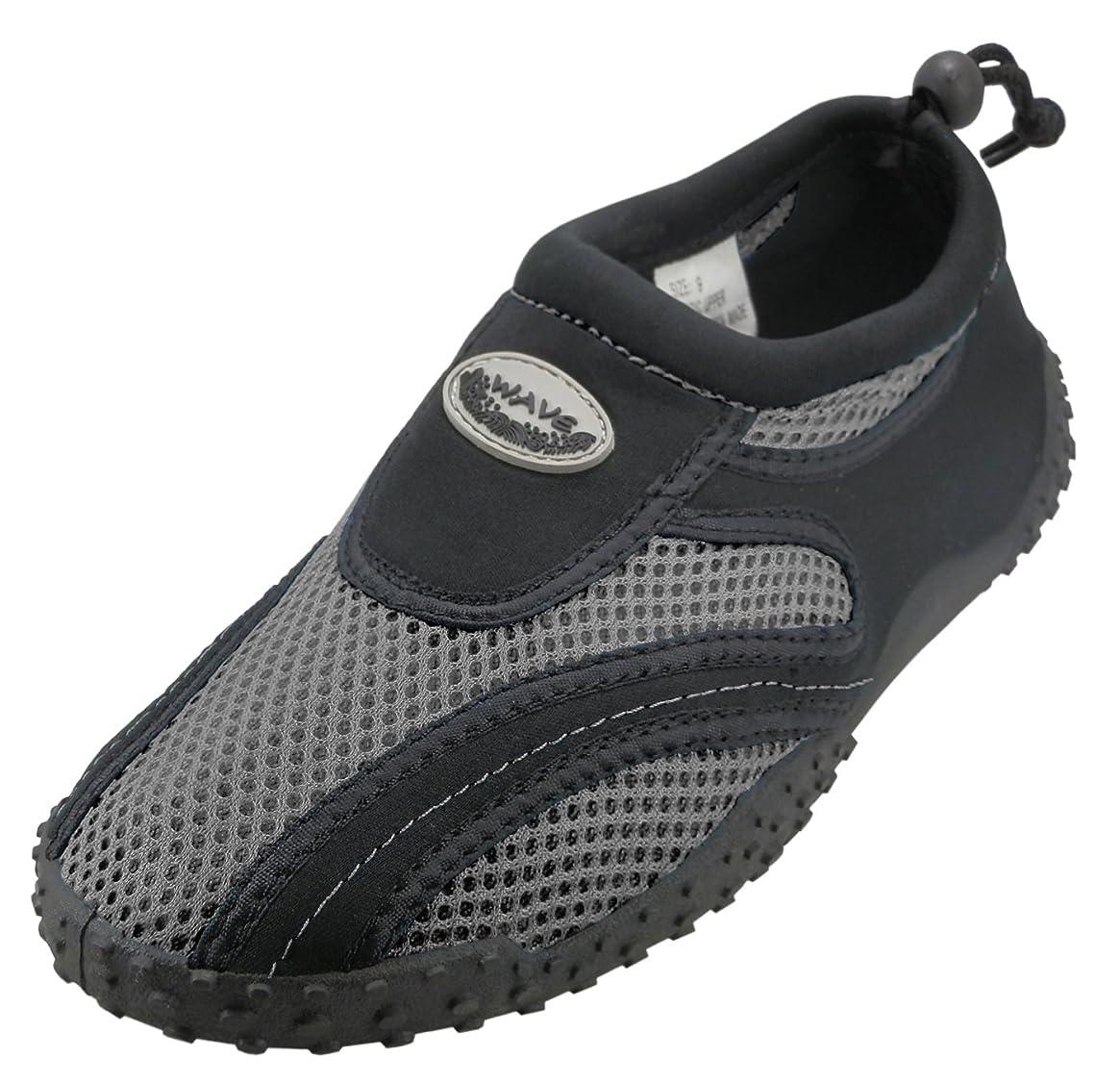 Cambridge Select Kids' Mesh Quick Dry Drawstring Non-Slip Water Shoe (Little Kid/Big Kid)