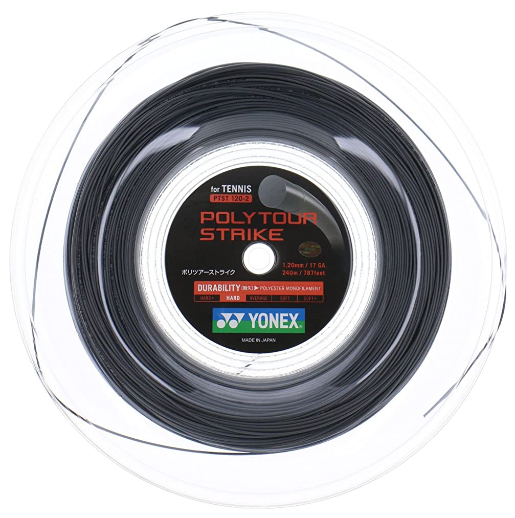 コーヒー虹凶暴なヨネックス(YONEX) 硬式テニス ストリング ポリツアーストライク POLYTOUR STRIKE
