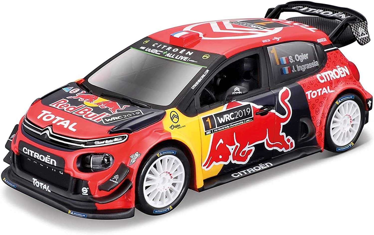 Car Toy Collectibles for Citroen C3 2019 Monte WRC St Animer and price revision Carlo 1:32 Trust