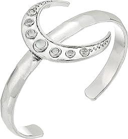Crescent Moon Cuff Bracelet