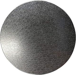 DIOE Base de platine vinyle électrique Lazy Susan, plateau rotatif porteur, accessoires de platine en métal, lisse, silenc...