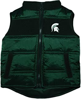 Michigan State University Baby and Toddler Puffy Vest