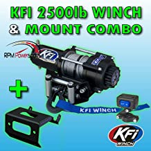 RPM KFI A2500R2 Winch & Mount Kit - 2016-2019 for Yamaha Grizzly 700 & for Kodiak 700 ATV