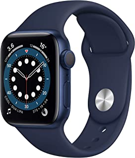 Apple Watch Series 6 (GPS, 44mm) - Blue Aluminium Case with Deep Navy Sport Band