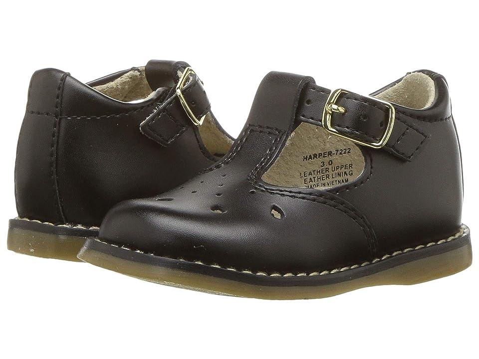 FootMates Harper (Infant/Toddler) (Black) Girls Shoes