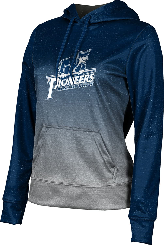 ProSphere Marietta College Girls' Pullover Hoodie, School Spirit Sweatshirt (Ombre)