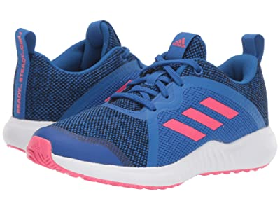 adidas Kids FortaRun X Knit (Little Kid/Big Kid) (Blue/Black) Girls Shoes