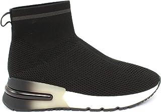 ASH Sneaker Kyle Black/Gun Taglia 37 - Colore Nero