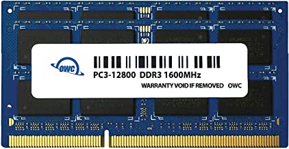 OWC 12GB (8GB+4GB) PC3-12800 DDR3L 1600MHz SO-DIMM 204 Pin CL11 Memory Upgrade Kit for iMac, Mac Mini, and MacBook Pro
