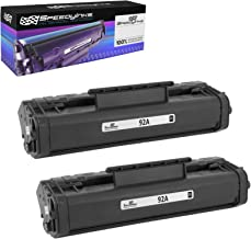 Speedy Inks - 2PK Remanufactured Replacement for HP 92A / HP92A / C4092A Black Laser Toner Cartridge for use in HP Laserjet 1100, 1100a, 1100ase, 1100xi, 1100se, 1100axi, 3200, 3200m, 3200se