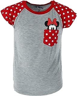Youth Minnie Mouse Peeking Pocket Tee Shirt