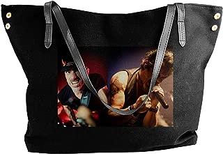 Fashion AC-DC Shoulder Bag Canvas Handbags Tote Bag