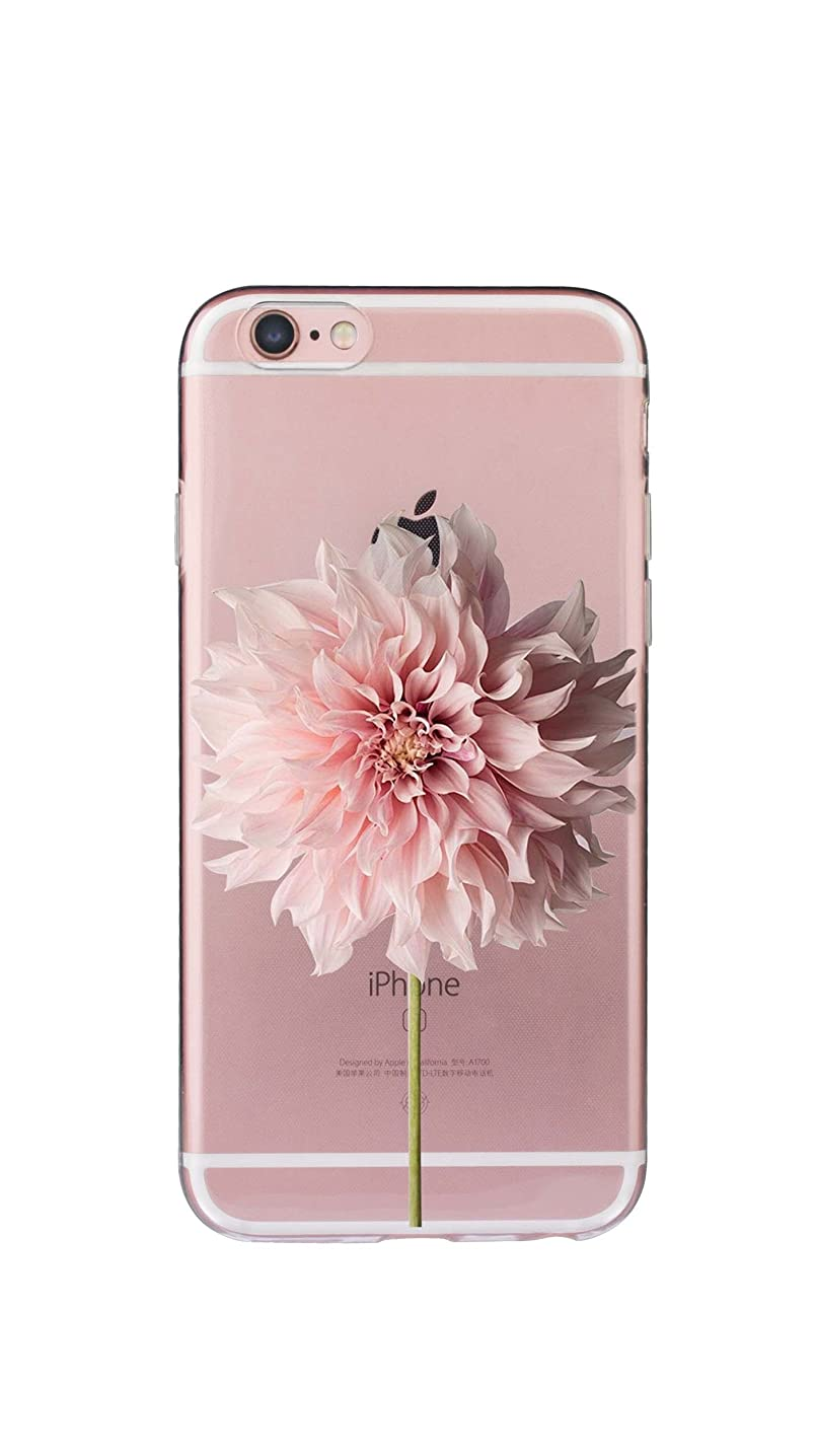 iPhone 8 Plus Clear Case with Cute Design, Slim Fit Ultra Thin Silicone Case Soft Gel TPU Protective Cover for Apple 5.5