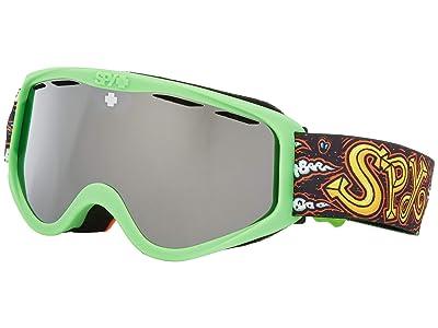 Spy Optic Cadet (Dirty Dog Hd Bronze w/ Silver Spectra Mirror) Goggles