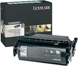 Lexmark T620 (12A6865) Black OEM Toner High Yield (30,000 Yield)