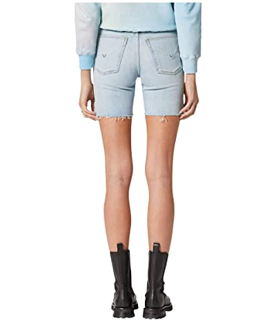 Hudson Jeans Hana Mini Biker Shorts in Devout (Devout) Women