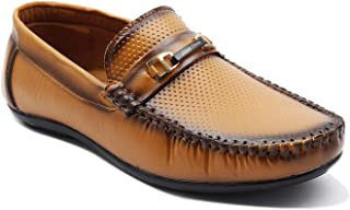 ZGX Men's Formal Synthetic Leather Loafer & Mocassins Shoe for Men