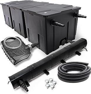 Wiltec SunSun CBF-350C CUV-272 72W Set NEO12000 Pumpe Schlauch Teichfilterset