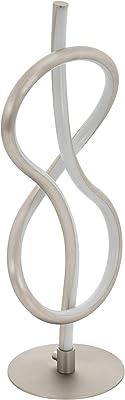 Eglo Lampe Lampe de Table Nickel Mat