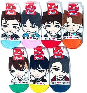 جوراب های جدید BTS Kpop برای خانمها همراه است