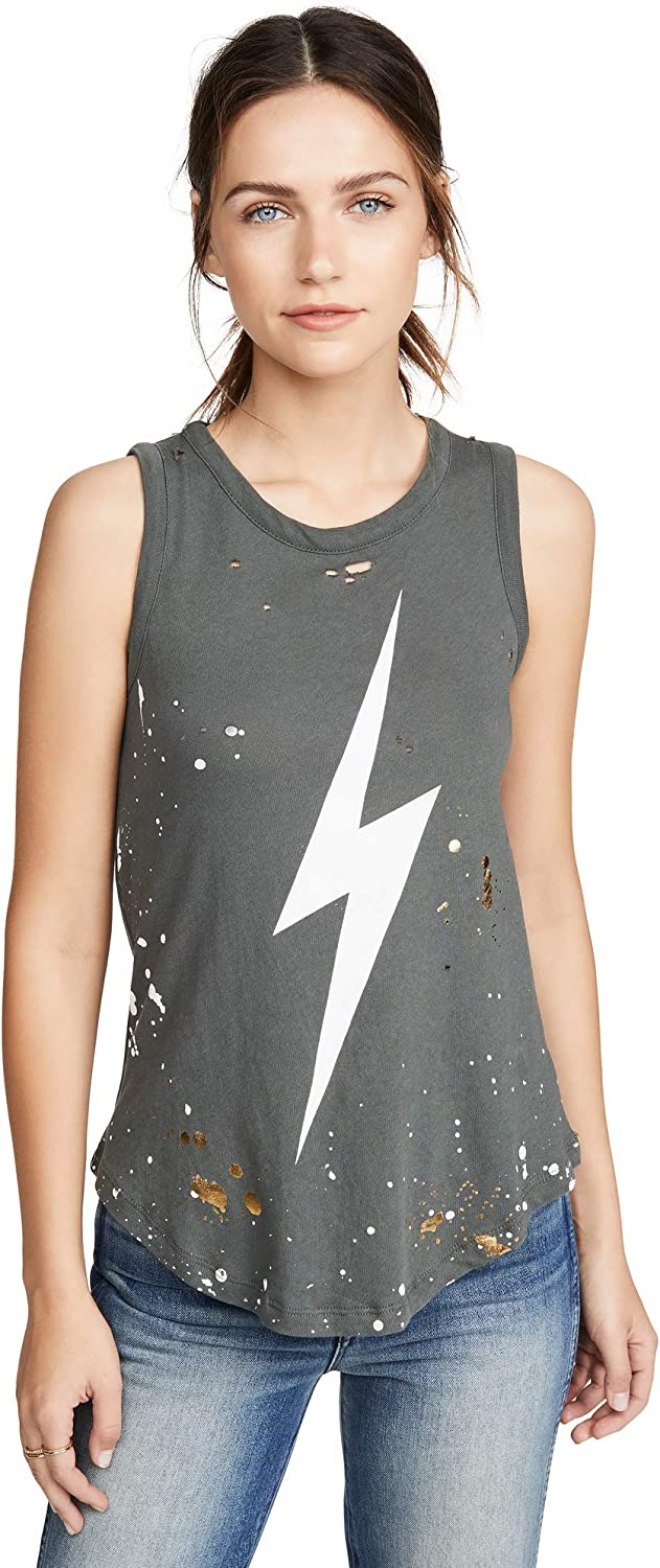 Chaser Women's Gauzy Cotton Muscle Tank