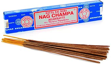 Satya Nag Champa Incense Sticks - 100 Gram Packet - Bulk Box - Fresh Shipment