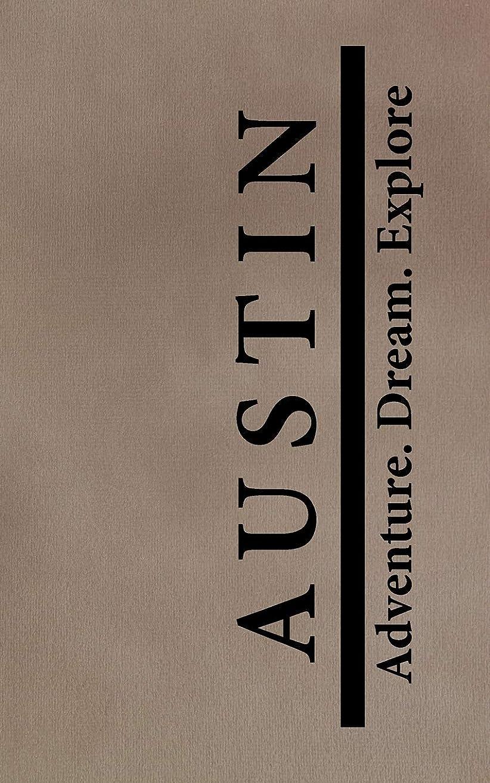 チャーターサイト放射するAustin Adventure Dream Explore: Personalized Journals for Travelers