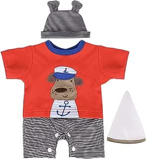 ENADOLL Reborn Dolls Baby Clothes for 16