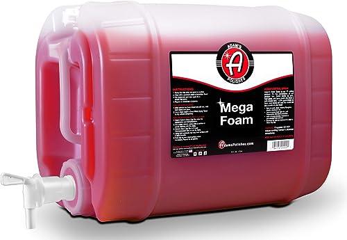 Adam's Mega Foam Shampoo - pH Neutral Wash Soap Designed For Mega Suds In Your Bucket, Foam Cannon, Gun, Sponge, Mitt...