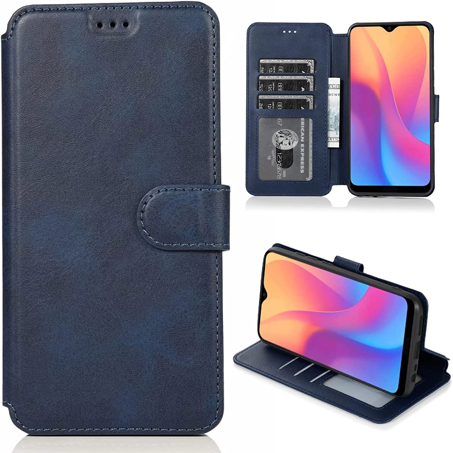 LUNCA for Xiaomi Redmi 8A Texture Buckle Opening large release Detroit Mall sale Magnetic Calf Horizonta