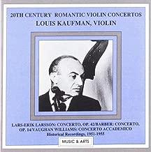 20th Century Romantic Violin