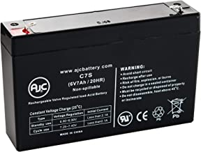 OR700LCDRM1U 6V 7Ah UPS Battery - This is an AJC Brand Replacement