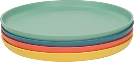 Now Designs Ecologie Side Plates, Set of Four, Fiesta Colors
