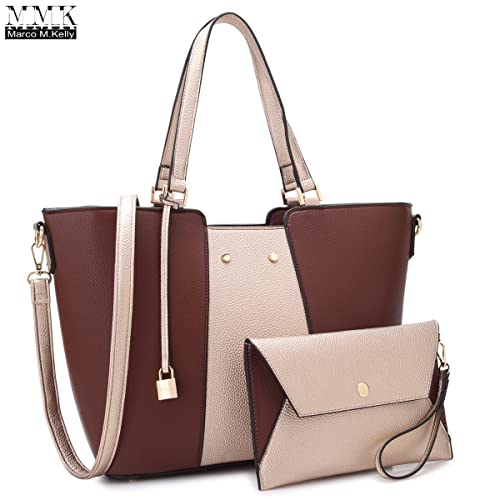 dbfd387fefc4 MMK collection Fashion Women Purses and Handbags Ladies Designer Satchel  Handbag Tote Bag Shoulder Bags with