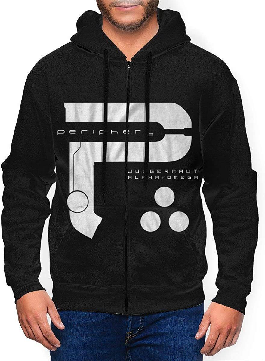 RaymondGleason Max 57% OFF Periphery Men Super intense SALE Full Warm Hoodie Sweatshirt Zipper