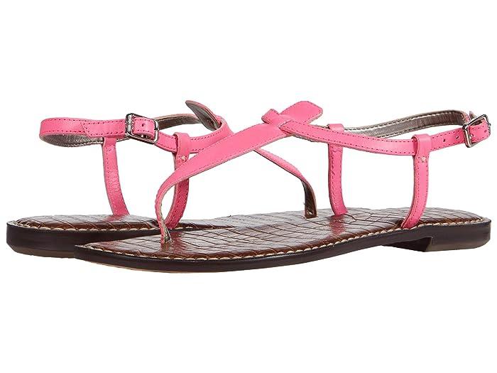 Sam Edelman  Gigi (Electric Pink Neon Texas Veg Leather) Womens Sandals