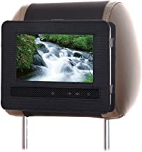 Portable DVD Player Car Headrest Mount Holder, 9-9.5inch Car Audio Video Swivel and Flip DVD Headrest Mount Strap Case for Kids