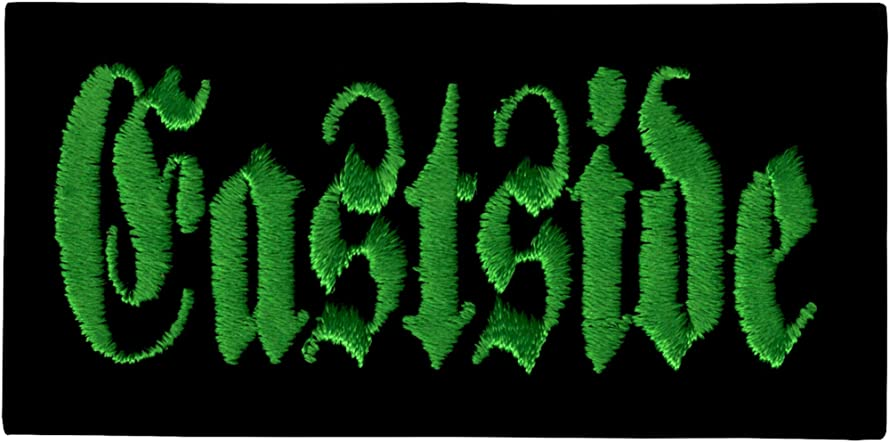 Eastside - Green Logo - Embroidered Sew or Iron on Patch