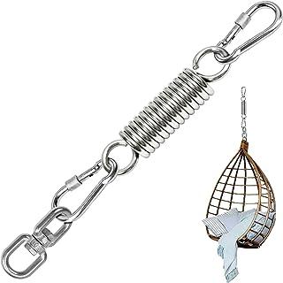 Gxhong Corde Altalene Regolabili Nylon Portanti 250 kg Corda da Arrampicata con Anello in Metallo Accessori Collegabili 1.8m per Altalena Allaperto Amaca da Campeggio