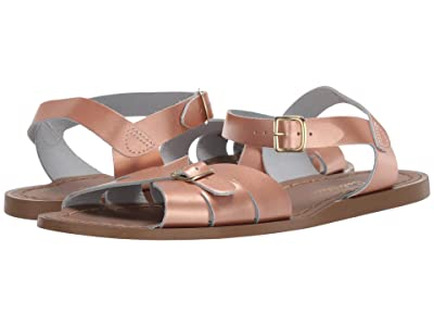 Salt Water Sandal by Hoy Shoes Classic (Big Kid/Adult) (Rose Gold) Girls Shoes