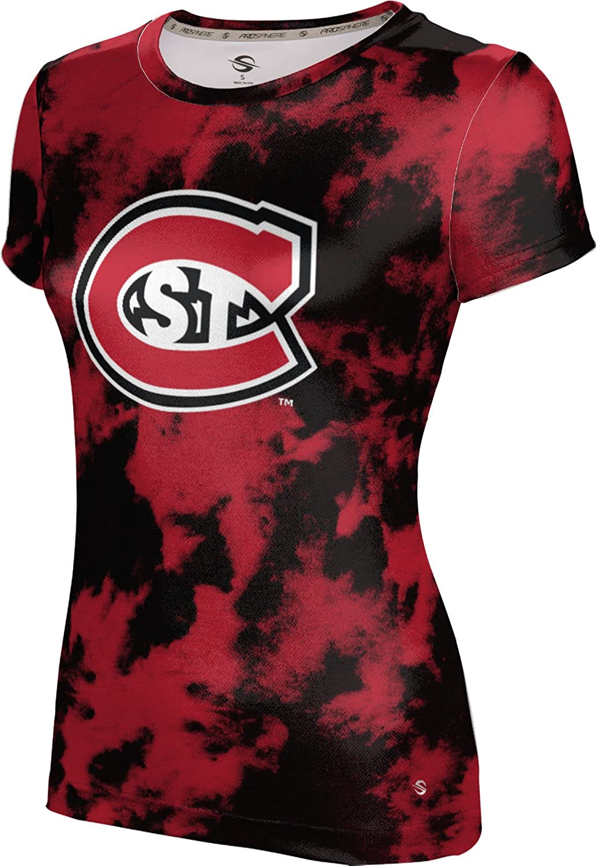 ProSphere St. Cloud State University Girls' Performance T-Shirt (Grunge)