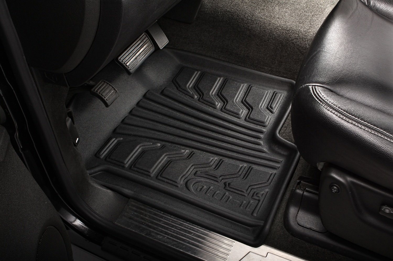 Lund 383229-G Catch-It Vinyl Grey Rear Seat Floor Mat