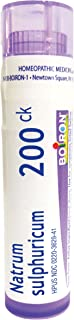 Boiron Natrum Sulphuricum 200CK, 80 Pellets, Homeopathic Medicine for Bronchial Irritation