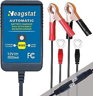 Heagstat 12V 2000mA Lead Acid/Lithium(LiFePO4) Automatic...