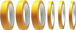 KiloNext 塗装用 マスキングテープ 9mm 18mm 6個 セット 車 プラモデル ホビー 塗装 養生テープ などに