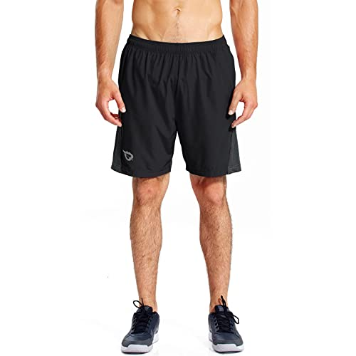 Self-Conscious Mens Nike Dri Fit Performance Black Workout Running Gym Shorts Size 2xl Xxl Activewear Bottoms